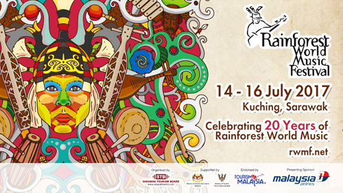 Rainforest World Music Festival 2017: 20 years of celebrating music heritage!