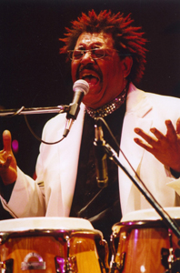 Candombe musician Ruben Rada (Uruguay)