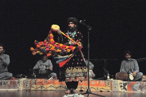 Sain Zahoor — Photo by Evangeline Kim