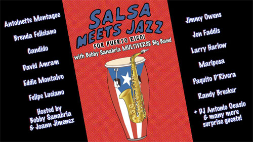Salsa Meets Jazz for Puerto Rico! Benefit Concert Today in New York City