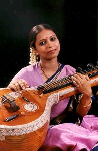 Mrs. Saraswati Rajagopalan, a participating artist