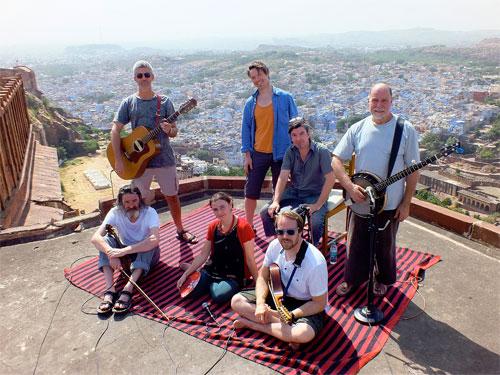 Scottish band Shooglenifty