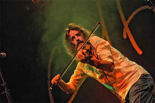 fiddler Angus R Grant (Shooglenifty)