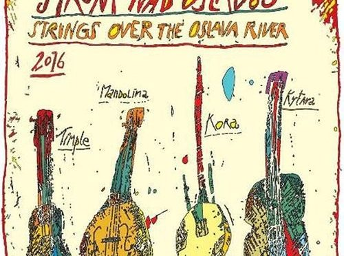 Magnificent Timple, Guitar, Kora and Mandolin Performances by the Oslava River