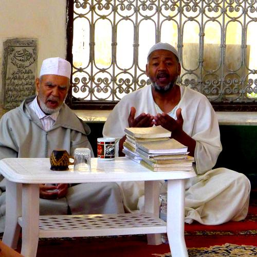 Sufi singers, Ouazzaniya Zaouia - Photo by Evangeline Kim