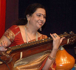 Suma Surendra, one of the participating artists