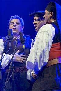 Tenores di Bitti Mialinu Pira - Photo courtesy of Cross-Culture Warsaw Festival