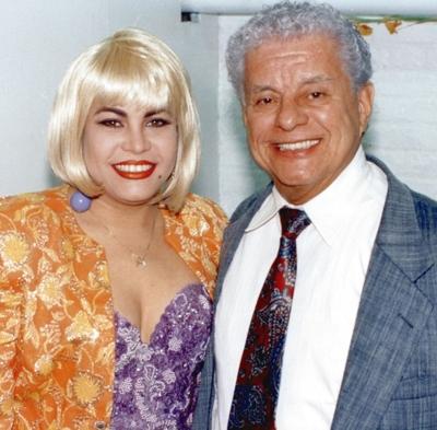 Tito Puente with Yolanda Duke