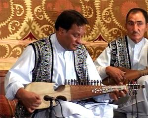 Rubab virtuoso Ustad Ghulam Hussain