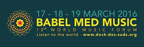 Babel Med Music 2016 Program Revealed