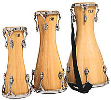 Batá drums, courtesy of LP (Latin Percussion)