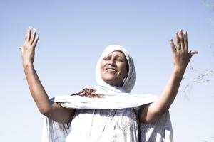 Mariem Hassan - photo by Lucia Dominguez