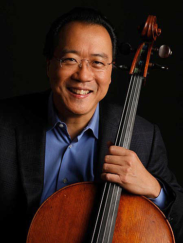 Silk Road Project Founder and Artistic Director Yo-Yo Ma - Photo by Todd Rosenberg/Sony BMG Masterworks